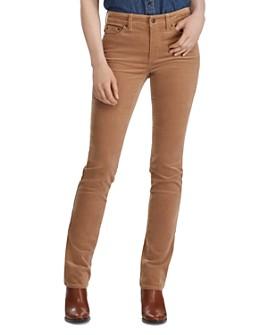 Ralph Lauren - Premier Straight Corduroy Pants in Classic Camel