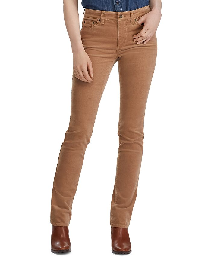 Premier Straight Corduroy Pants in Classic Camel