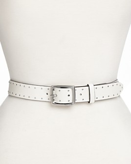 rag & bone - Women's Studded Leather Boyfriend Belt