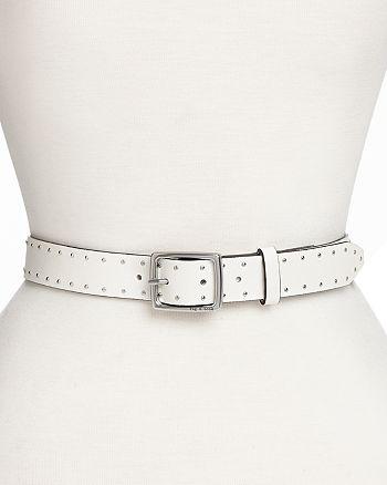 rag & bone - Women's Studded Leather Boyfriend Belt