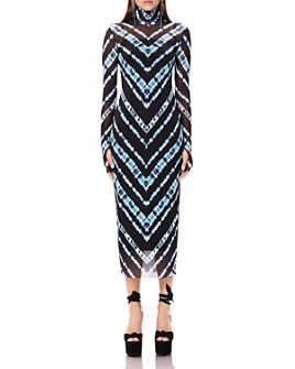 AFRM - Shailene Mesh Turtleneck Dress