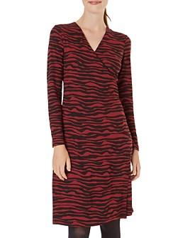 HOBBS LONDON - Odyssey Zebra Print Dress