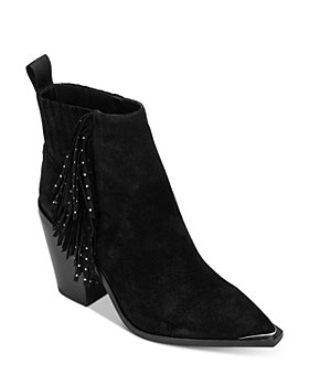 Kenneth Cole - Women's West Side Fringe Ankle Booties