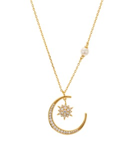 kate spade new york - Stargaze Pendant Necklace, 17""