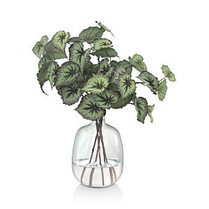 Diane James Home Begonia Leaves Faux-Floral Arrangement