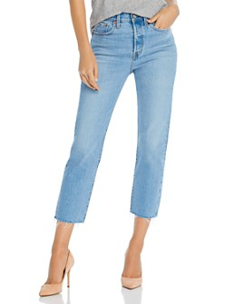 Levi's - Wedgie Cropped Straight-Leg Jeans in Tango Hustle
