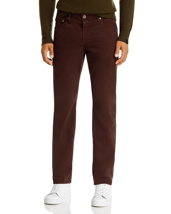 AG - Graduate Slim Straight Fit Jeans in Raleigh