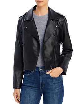 Bagatelle - Faux-Leather Moto Jacket