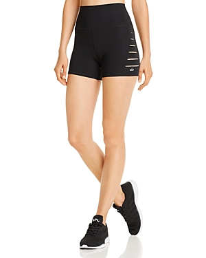 Alo Yoga Shorts CUTOUT BIKE SHORTS