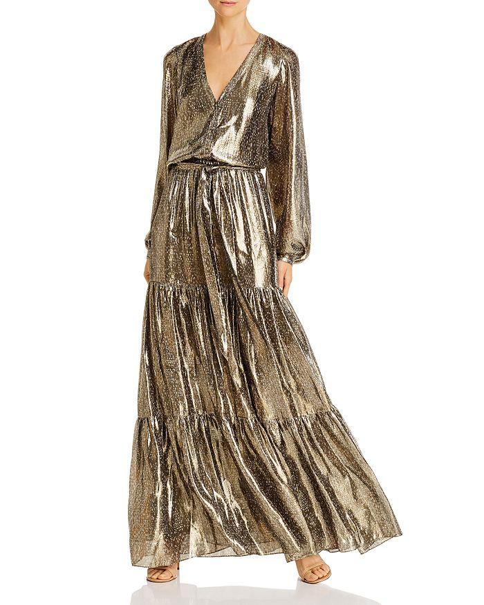 Ramy Brook - Metallic Printed Maxi Dress