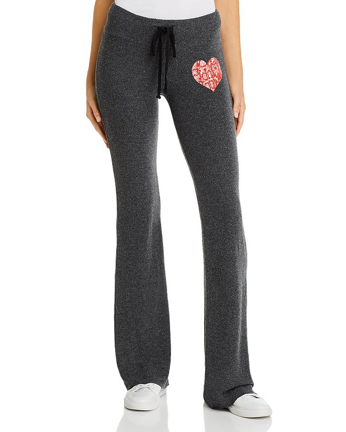 Wildfox Tennis Club Graphic Sweatpants - 100% Exclusive In Clean Black