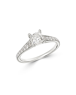 Bloomingdale's Princess-Cut Solitaire Diamond Ring in 14K White Gold, 1.35 ct. t.w. - 100% Exclusive