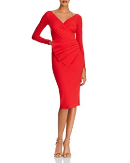 Chiara Boni La Petite Robe - Kaya Draped Sheath Dress - 100% Exclusive