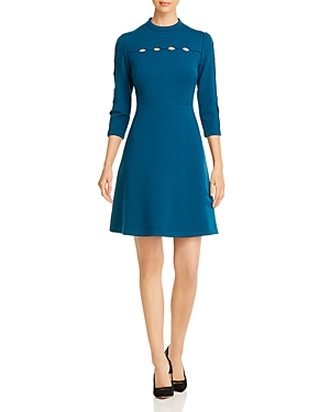 Elie Tahari Dresses SENNA CUTOUT DETAIL DRESS