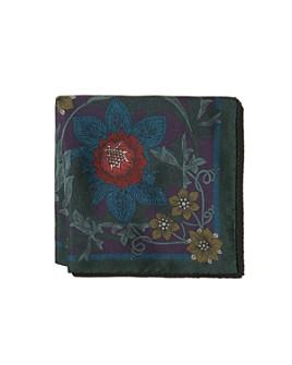 Eton - Flower & Vine Silk Pocket Square