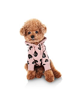 Huts and Bay - Leopard Spot Dog Hoodie
