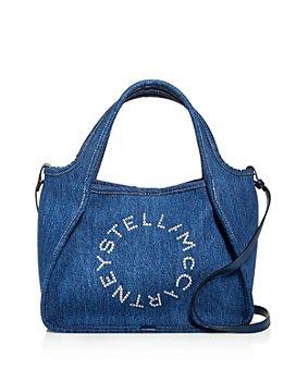 Stella McCartney - Embossed Denim Crossbody