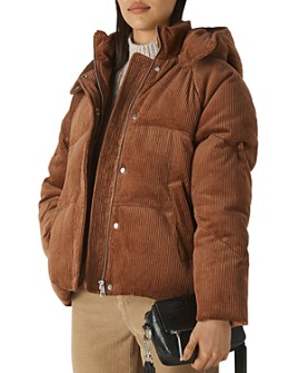 Whistles - Casey Corduroy Puffer Jacket