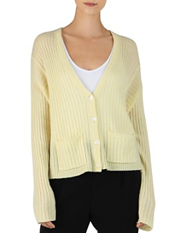 ATM Anthony Thomas Melillo - Ribbed Cashmere Cardigan