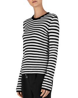 ATM Anthony Thomas Melillo - Striped Cashmere Top