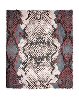 Zadig & Voltaire - Delta Snake Print Scarf