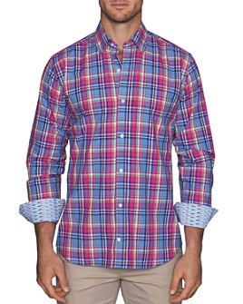 TailorByrd - Caryn Plaid Classic Fit Shirt