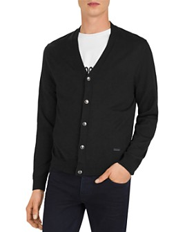 The Kooples - Skull-Button Cardigan