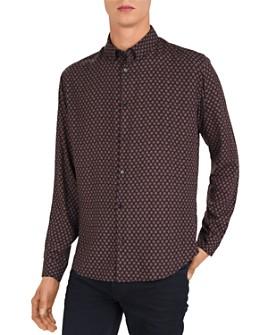 The Kooples - Hippie Diamonds Slim Fit Shirt