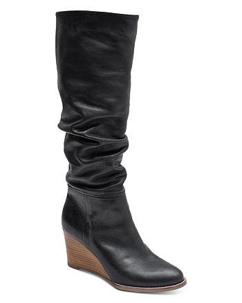 Andre Assous - Women's Saffi Wedge Heel Scrunched Boots
