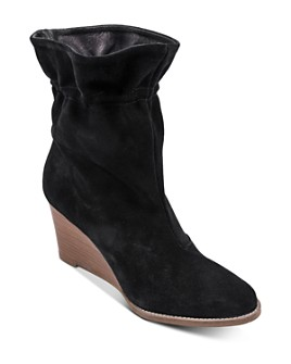 Andre Assous - Women's Sol Cinched Wedge Heel Boots