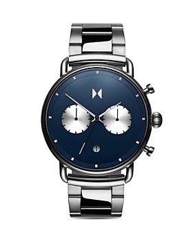 MVMT - Astro Blue Link Bracelet Chronograph, 47mm