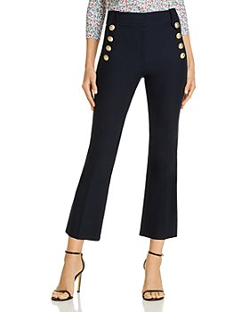 Derek Lam 10 Crosby - Robertson High Waisted Crop Flare Pants