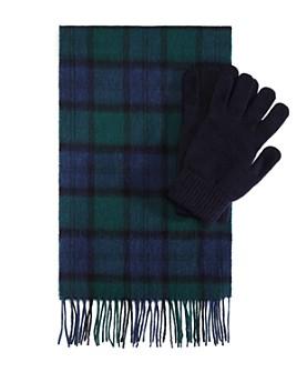 Barbour - Tartan Scarf & Glove Gift Set