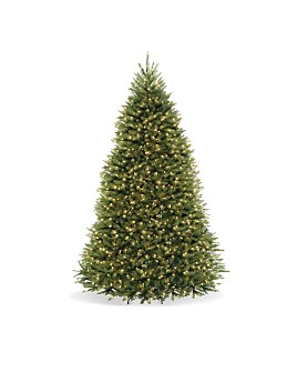 National Tree Company - 9 ft. Dunhill® Fir Tree with Dual Color® LED Lights & PowerConnect™