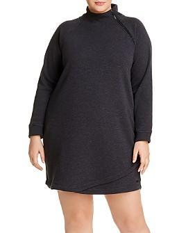 Marc New York Plus - Plush Fleece Dress