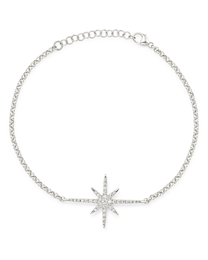 Bloomingdale's Diamond Starburst Bracelet in 14K White Gold, 0.15 ct. t.w. - 100% Exclusive