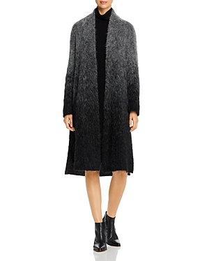Eileen Fisher Coats OMBRE OPEN DUSTER COAT