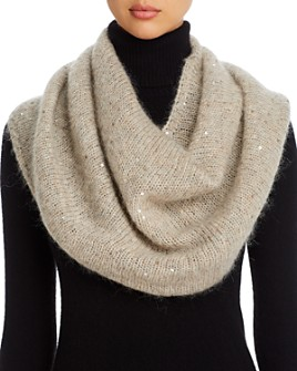 Eileen Fisher - Sequined Infinity Scarf