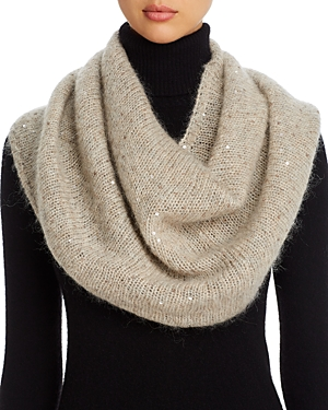 Eileen Fisher Sequined Infinity Scarf