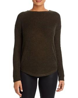 BeachLunchLounge - Luna Metallic Ribbed Sweater