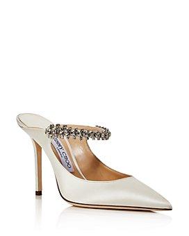 Jimmy Choo - Women's Bing 100 Embellished High-Heel Mules - 100% Exclusive