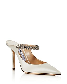 Jimmy Choo - Women's Bing 100 Embellished High Heel Mules - 100% Exclusive