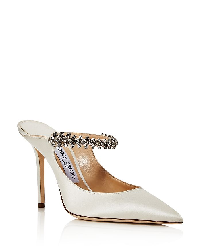 Jimmy Choo - Women's Bing 100 Embellished High-Heel Mules - 100% Exclusive