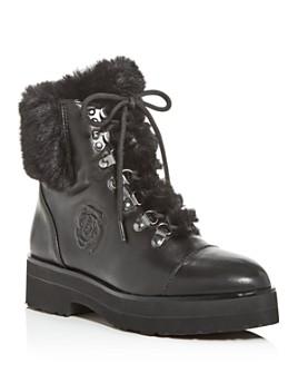 Taryn Rose - Women's Valentina Weatherproof Platform Combat Boots