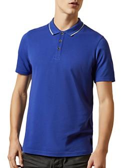 Ted Baker - Flava Piqué Regular Fit Polo Shirt - 100% Exclusive