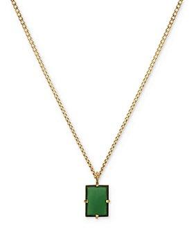 """MIANSAI - Lennox Pendant Necklace, 24"""""""