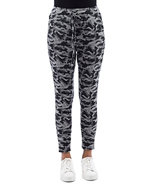 B Collection By Bobeau Pants B COLLECTION BY BOBEAU COZY CAMO JOGGER PANTS
