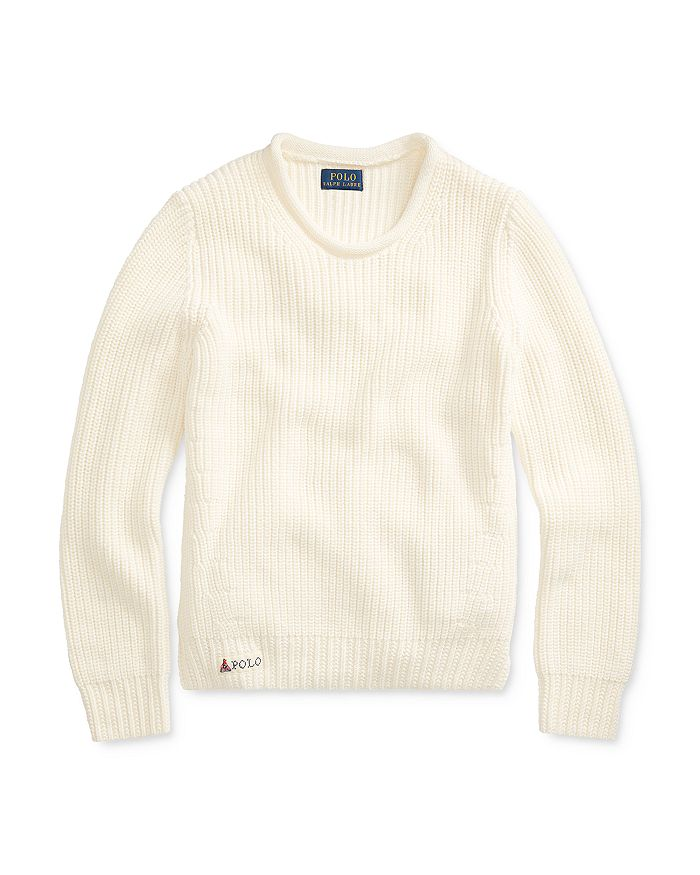 Ralph Lauren - Girls' Roll-Neck Sweater - Big Kid