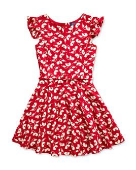 Ralph Lauren - Girls' Floral Print Belted Dress - Big Kid