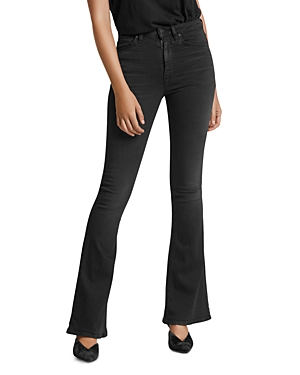 Hudson Jeans HOLLY HIGH RISE FLARED JEANS IN HIGH HOPES